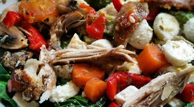 Friday's foodie and the Three Cheese warm Protein Salad